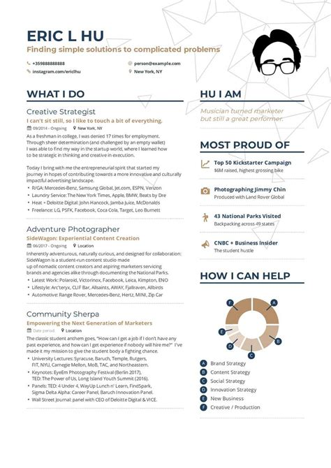 Marketing Resume by Marketing Resume Exle And Guide For 2019