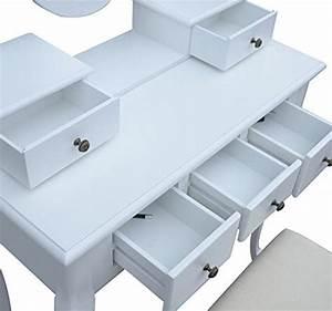Coiffeuse Sans Miroir : coiffeuse meuble bureau ~ Teatrodelosmanantiales.com Idées de Décoration