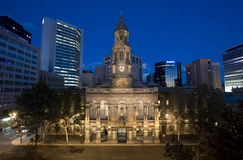 Adelaide Town Hall - Location