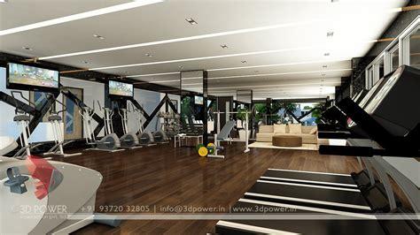 Gym Interior : Interior Design Chennai