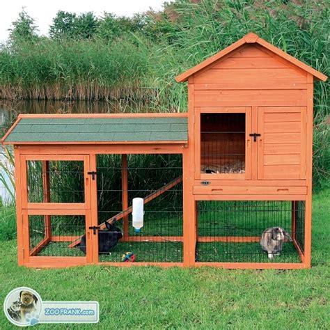 kaninchenstall mit freigehege kaninchenstall hasenstall mit freigehege k 228 fige