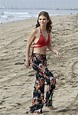 "Retro Bikini: AnnaLynne McCord Wears ""Red Colourful Bikini"" For 90210 At Los Angeles (14 Photos)"