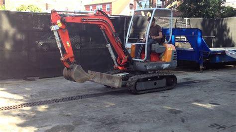 scat track excavator youtube