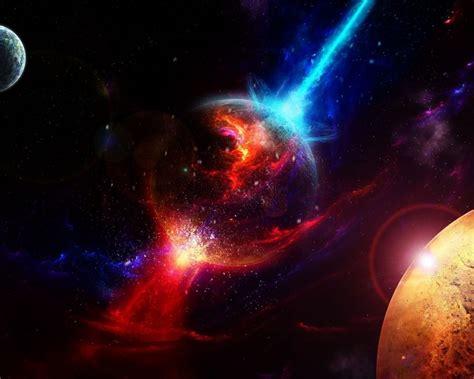desktop red galaxy wallpapers wallpaper cave