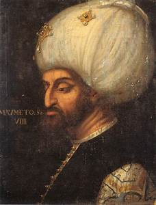 Portrait of Mehmed II - Paolo Veronese - WikiArt.org ...