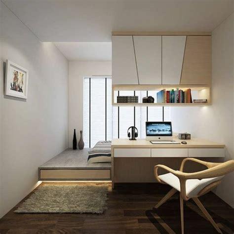 style minimaliste chambre studio decoration appartement