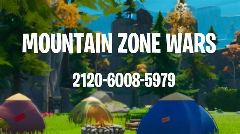 zone wars code duos trios map chapter mountain comments terrain customs 2120 appreciated feedback soon load coming unique updated