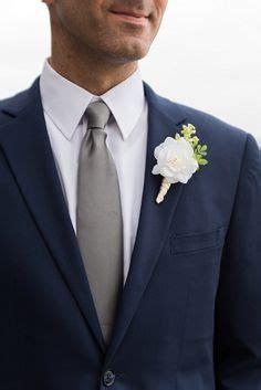 navy suit white shirt cotton grey tie fashion