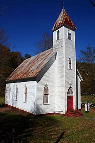 Old Country Church Buildings