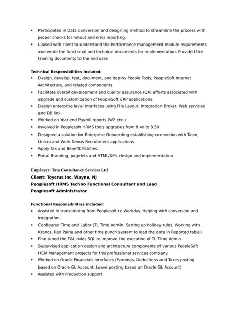 creative benefits administrator resume template page 6