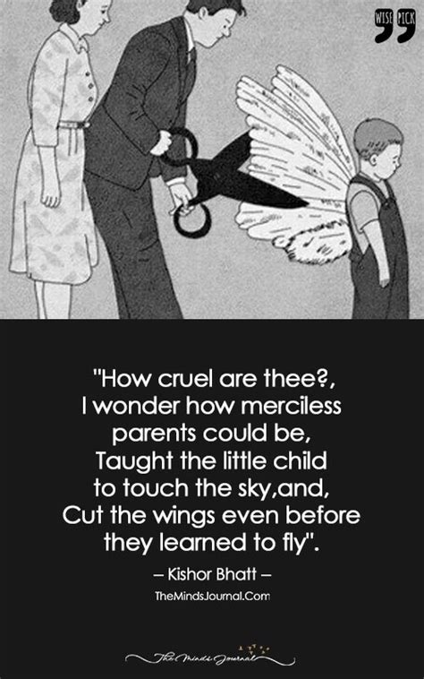 Taught The Little Child To Touch The Sky and Cut The Wings