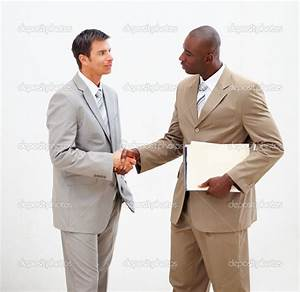 INTERACT: is shaking hands with