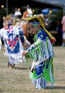 Young Powwow Grass Dancer editorial stock photo. Image of ...