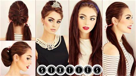Easy 60s Hairstyles by Hepburn Hair Tutorial Easy 60 S Hairstyles
