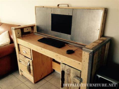 configurer pc de bureau 17 meilleures idées à propos de meuble ordinateur sur