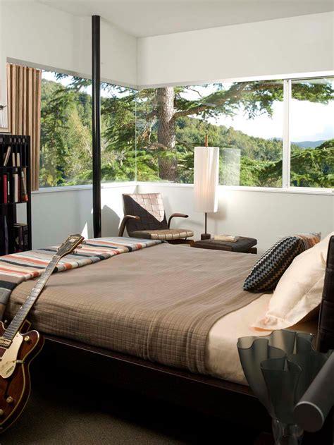 chambre homme déco chambre à coucher au design créatif élégant et