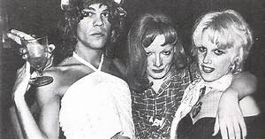 Cyrinda Foxe, Jackie Curtis, and David J.