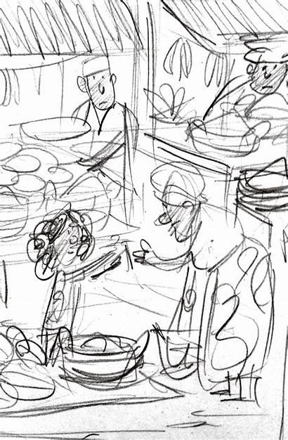 Ane Illustrations Sketch Children