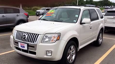 Suv For Sale by 2010 Mercury Mariner Used Suv For Sale Marshall Ford O