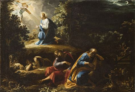 the agony in the garden scripture for the sorrowful mysteries keen for god