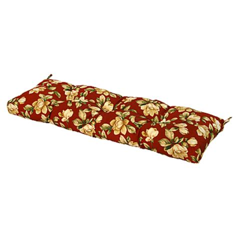 54 inch bench cushion greendale home fashions 51 in outdoor bench cushion