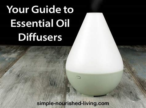 Your Electric Essential Oil Diffuser Guide ? Simple