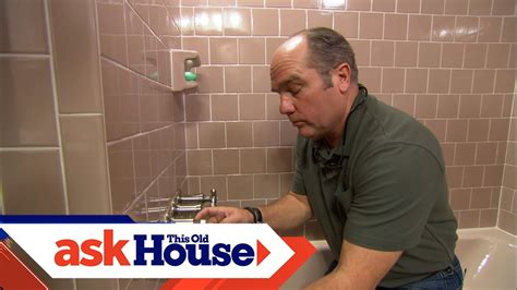 repair  shower valve stem    house