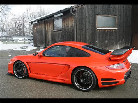 porsche gemballa 2006 gemballa gtr 650 evo orange based on porsche 997