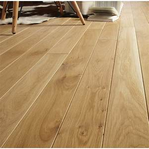 parquet massif chene blond huile l artens solid leroy merlin With parquet chene massif clipsable
