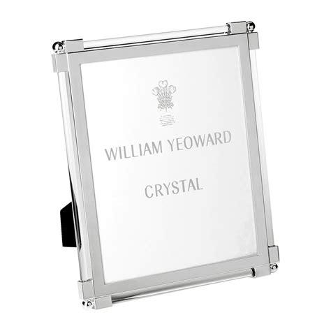 buy william yeoward classic clear glass photo frame