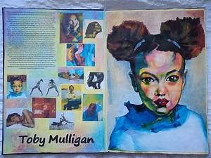 Sketchbook work- Artist research: Toby Mulligan in 2019 ...
