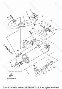Yamaha Side By Side 2007 Oem Parts Diagram For Exhaust