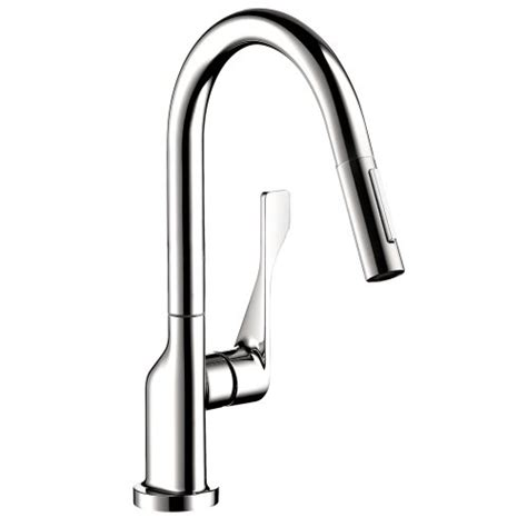 Hansgrohe Axor Uno2 Kitchen Faucet by Hansgrohe 39836001 Axor Citterio Prep Kitchen Faucet