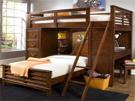 queen bunk bed with desk amazing twin over full bunk bed with desk badotcom com
