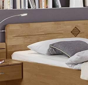 Komfortbett In Erle Natur Teilmassiv Mit Hohem Kopfteil