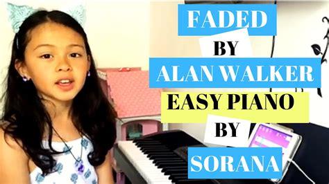 faded alan walker piano easy version