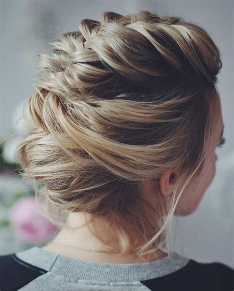 Updo Hairstyles With Braid by 10 Beautiful Updo Hairstyles For Weddings 2020