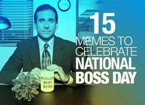 Happy Boss S Day Meme - national bosses day 2014 15 memes to celebrate or not your boss this year