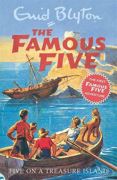 Famous Five Treasure Island Blyton Enid Books