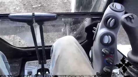 mini excavator controls run  youtube
