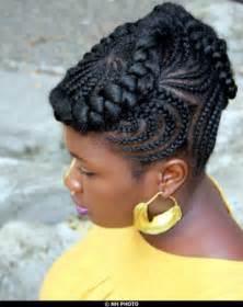 Natural Hairstyles Cornrow Goddess Braids