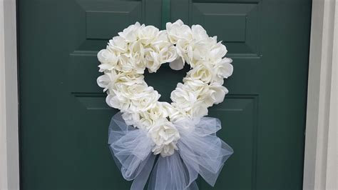 Wedding Wreath Bridal Shower Dollar Tree Diy Youtube