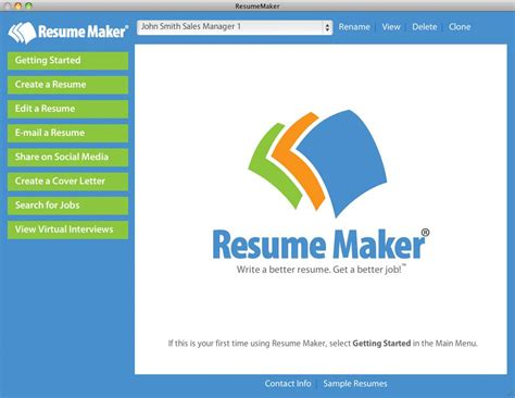 resume maker 174 mac offers technology individual software pleasanton ca prlog