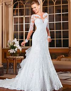 attractive wedding gowns bridal dresses popular vintage With cheap lace wedding dresses