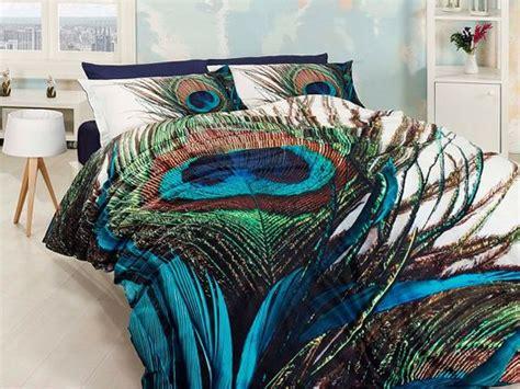 cotton blue  green unique bedding set