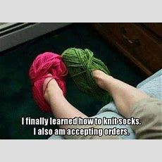 Learned How To Knit Socks Pictures, Photos, And Images For Facebook, Tumblr, Pinterest, And Twitter