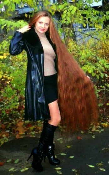 Long Haired Women Hall Of Fame Alla Perkova Long Hair Styles Beautiful Long Hair Very Long Hair