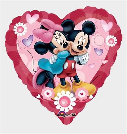 Mickey Minnie Mouse Disney Heart Jumbo Valentine