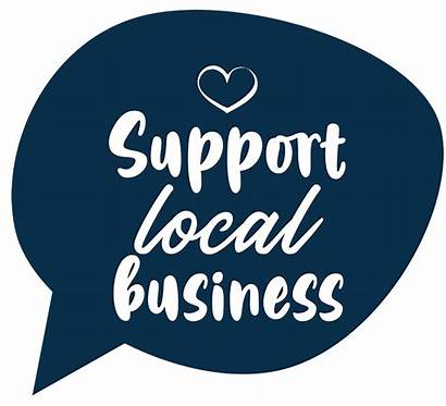 Support Local Businesses Materials Board Tourism Area