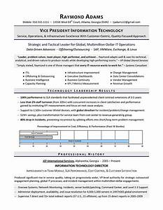 vp of it resume it director resume executive resume With it resume